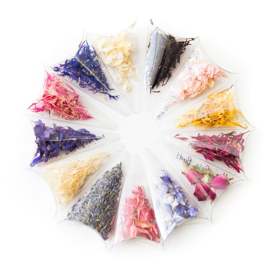 Confetti Petal Sample Wheel