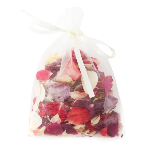 Natural Rose Petals - 10 Handful Bag of Confetti