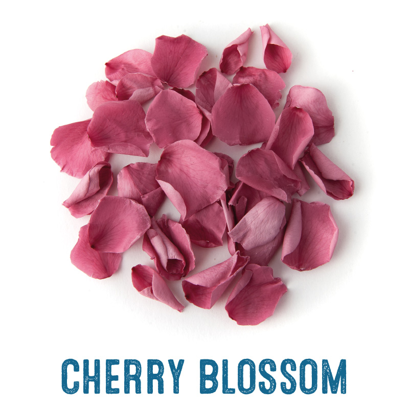 Cherry Blossom coloured Rose Petal Confetti