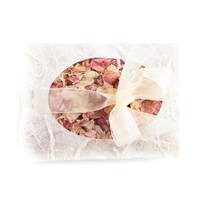 Biodegradable Confetti - Pink Mix Delphiniums - Petal Envelope
