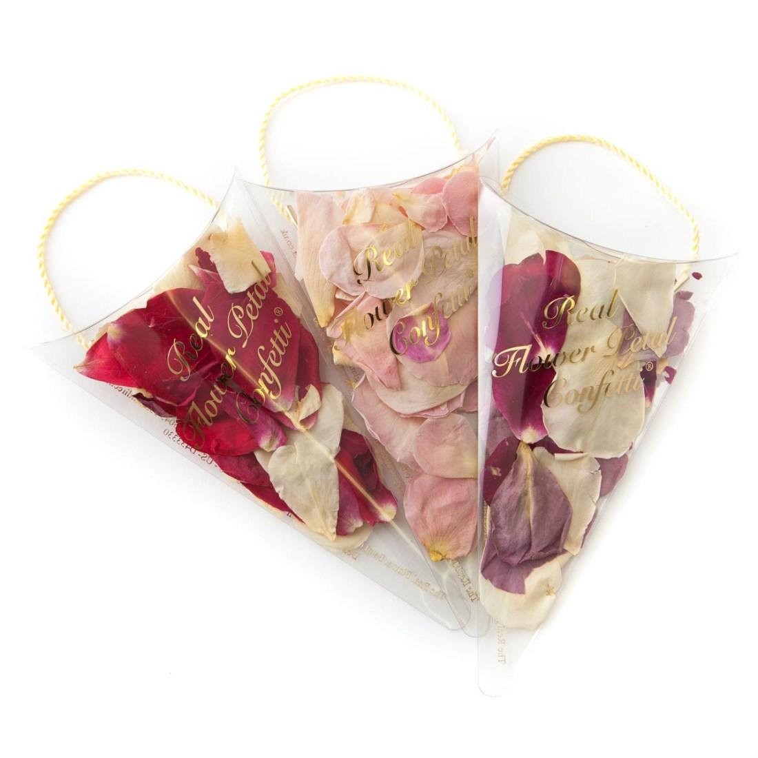 Confetti Moment - rose petal confetti sachets