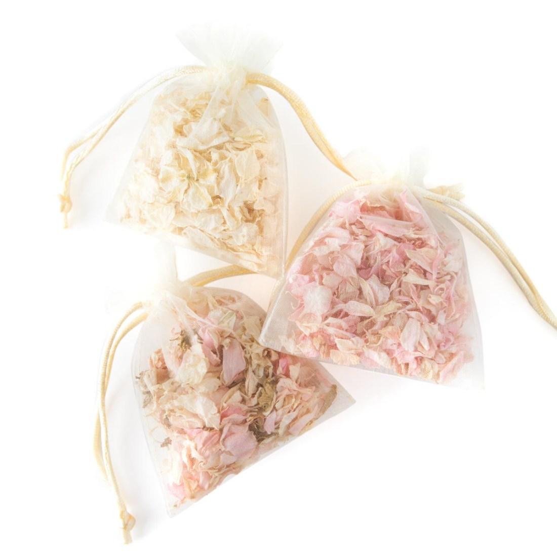 Confetti Moment - Delphinium Petal Bags