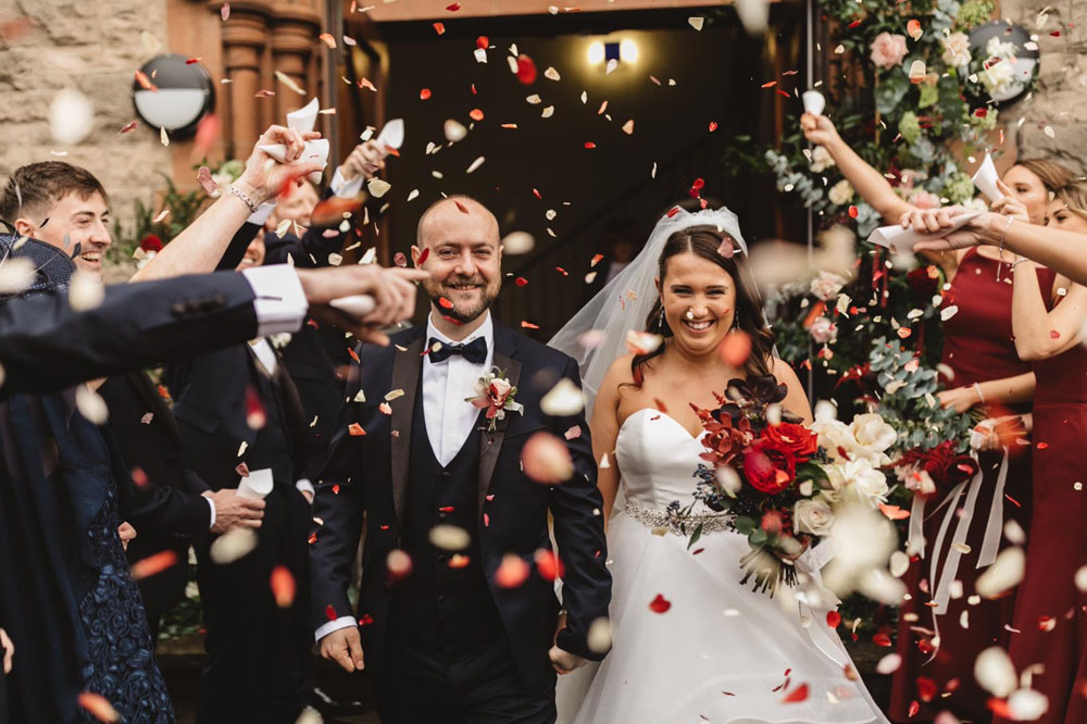 The Real Flower Petal Confetti Company's Perfect Confetti Moment Photo Competition Winners 2018