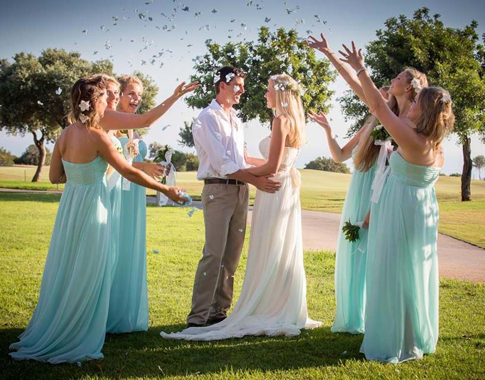 Hydrangea Petal Confetti Throw