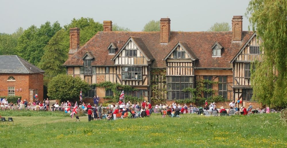 wyke manor at the 2012 village royal wedding street party