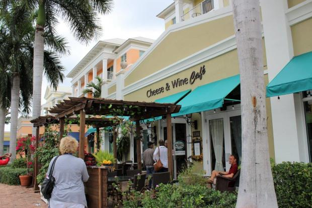 florida culinar tour Judy's cheese and wine cafe