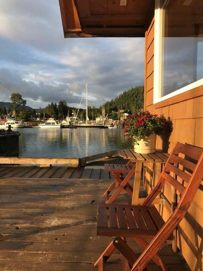 wrangell, alaska dockside floathouse