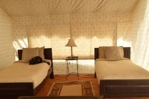 Pushkar Camel Fair tent camp