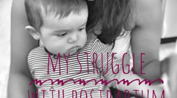 My struggle with Post-Partum Health Anxiety