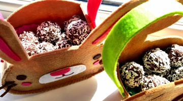 Chocolate Coco Balls : A Healthy Alternative to Chocolate for Easter