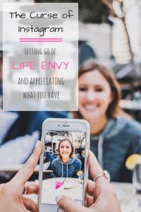 Let go of Life Envy and Appreciate What you Have