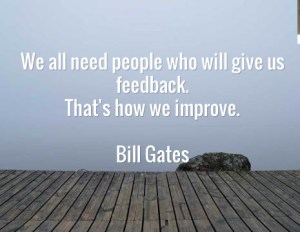 Bill Gates Feedback