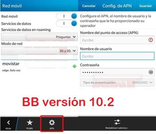 reparar configurar apn claro nicaragua blackberry