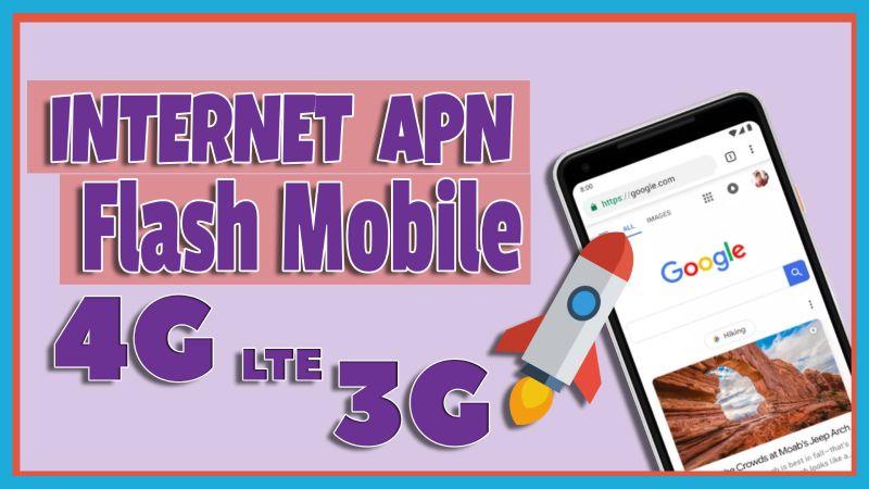 como configurar apn flash mobile peru, crear perfil apn de internet