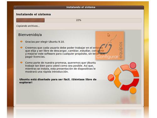 instalar ubuntu 9 10 karmic koala 7