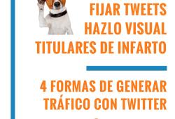4 Formas de Generar Tráfico con Twitter