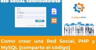 Como crear una Red Social, PHP y MySQL