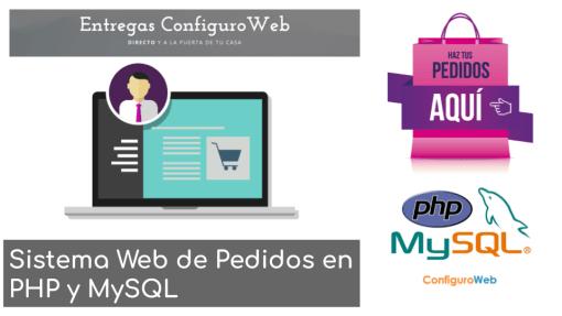 Sistema Web de Pedidos en PHP y MySQL