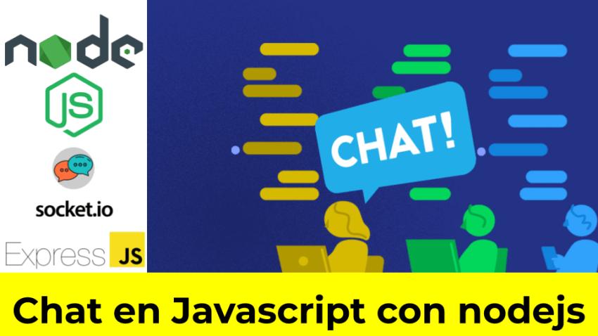Chat en Javascript con nodejs