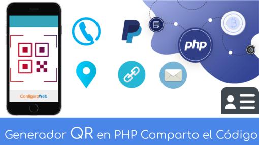 Generador QR en PHP Comparto el Código