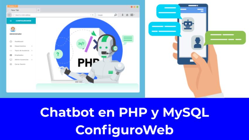 Chatbot en PHP y MySQL ConfiguroWeb