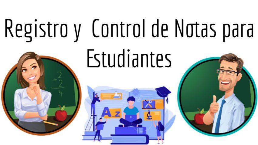 Registro y Control de Notas para Estudiantes en PHP y MySQL