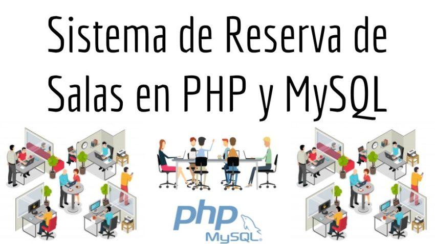 Sistema de Reserva de Salas en PHP y MySQL