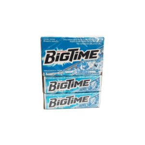 CHICLE BIGTIME REFRESCANTE DISPLAY 20 PAQUETES 11 GR