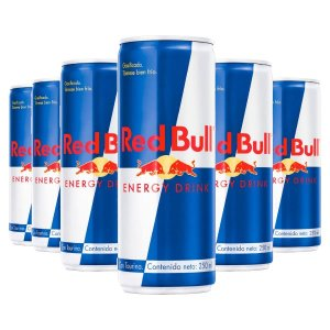 Energética RED BULL LOTE 6 UNIDADES 250 CC