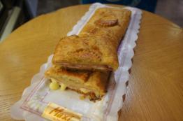 empanada jamón y queso