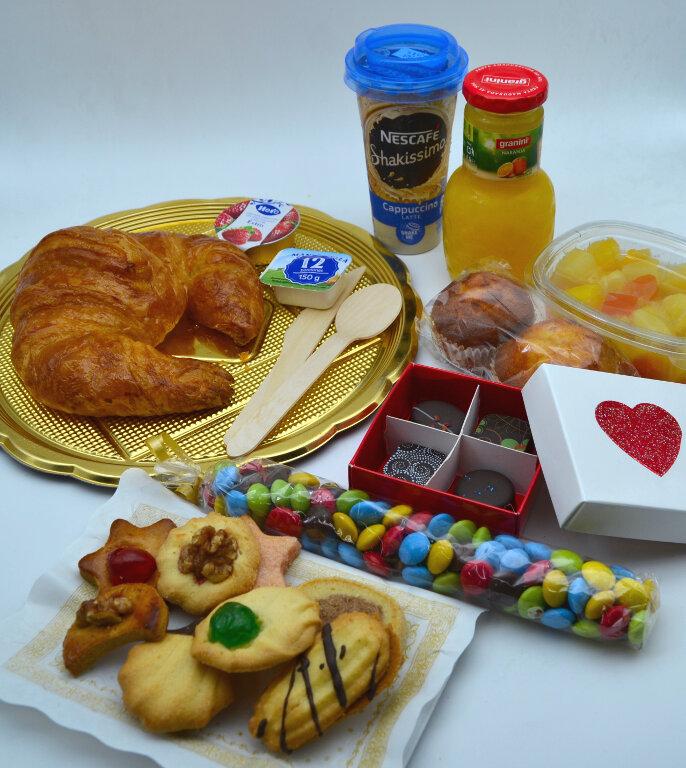 desayuno para una persona