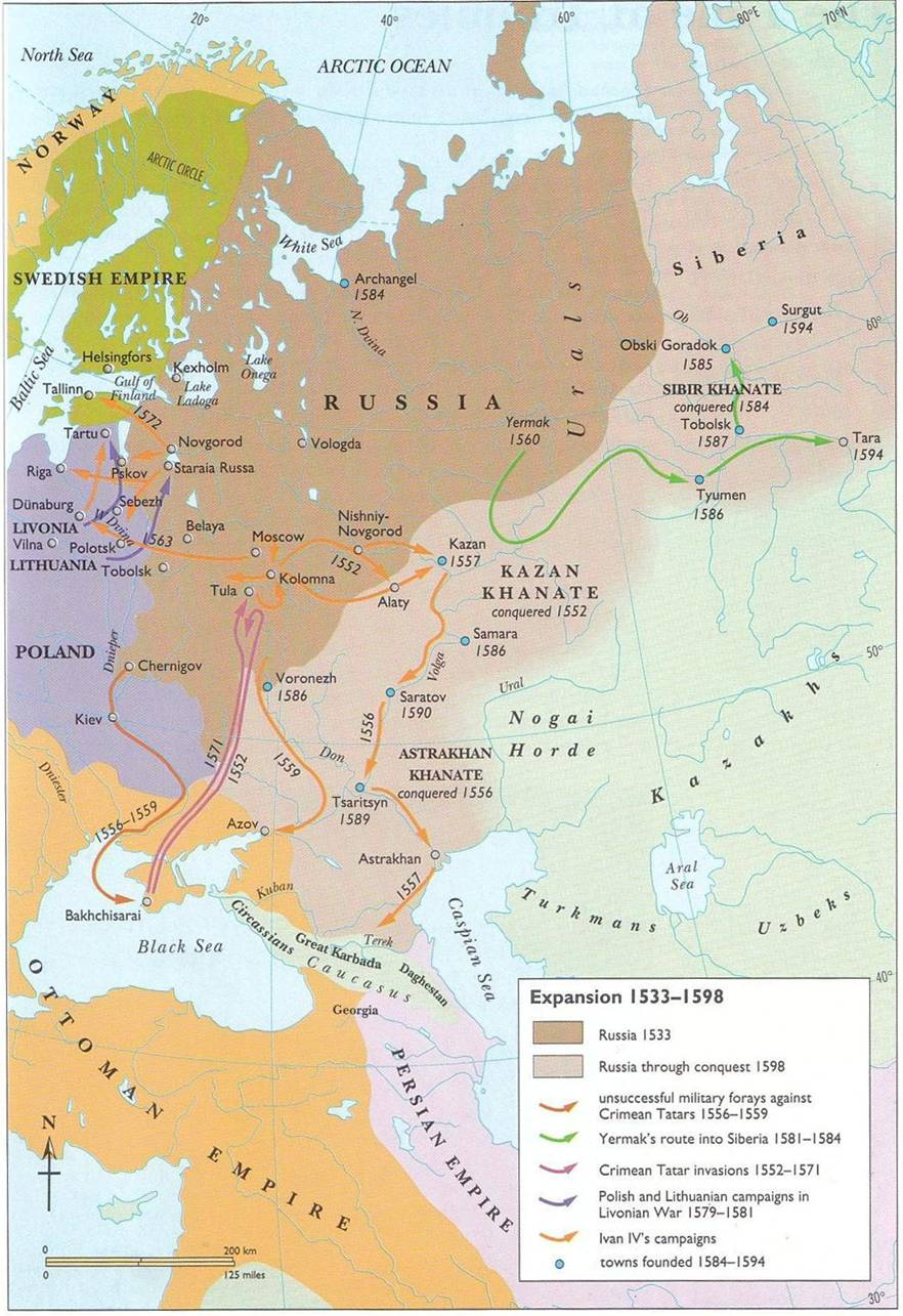 Western Expansion Russian Empire
