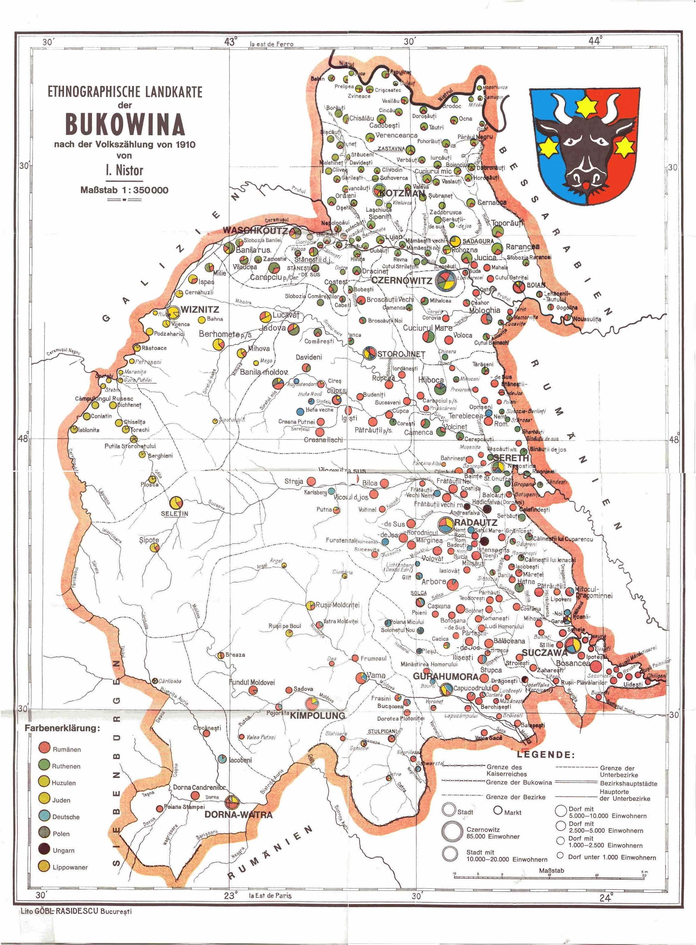 Imagini pentru bukowina map