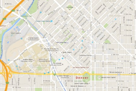map of downtown denver colorado » Path Decorations Pictures | Full ...