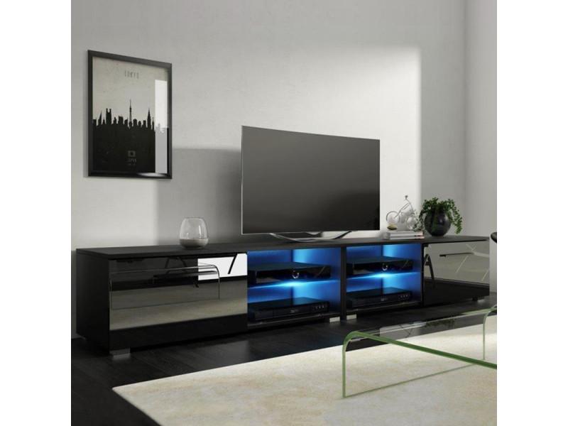 meuble tv banc tv tenus double