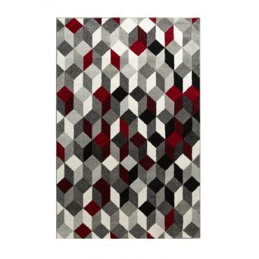 salon contemporain 50 x 80 cm rouge