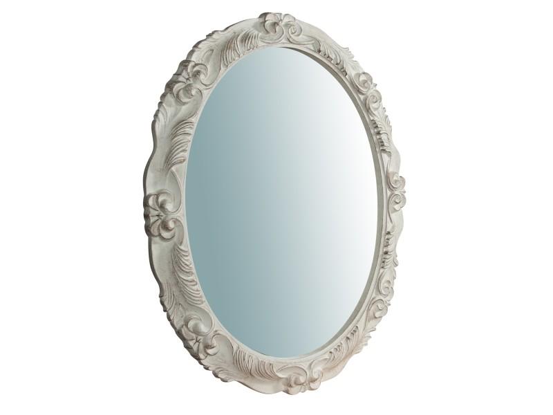 miroir long miroir mural ovale a