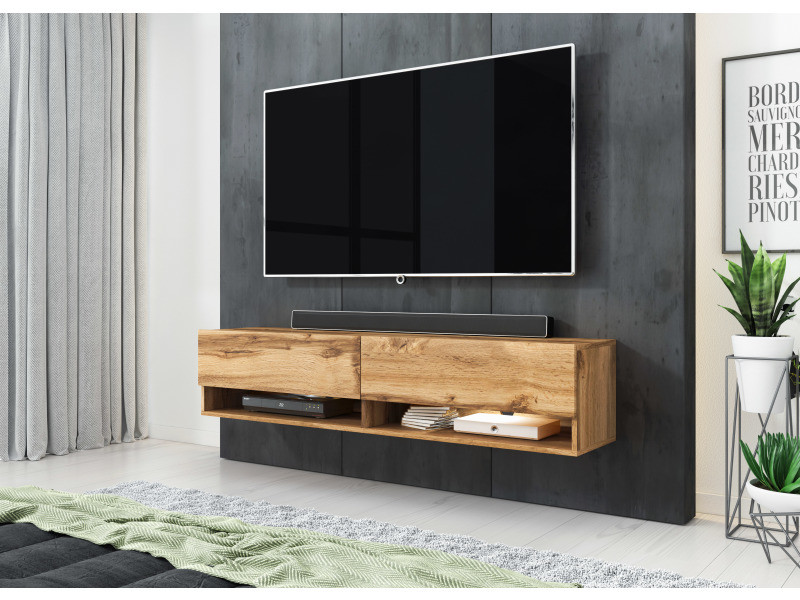 furnix meuble tv style industriel alyx