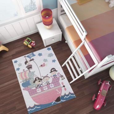 tapis enfant beige conforama