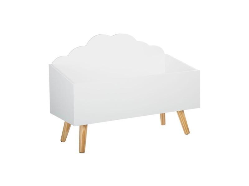 jouets en bois pour enfant nuage blanc