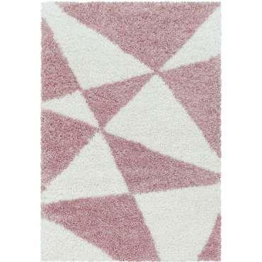 tapis salon et chambre rose conforama