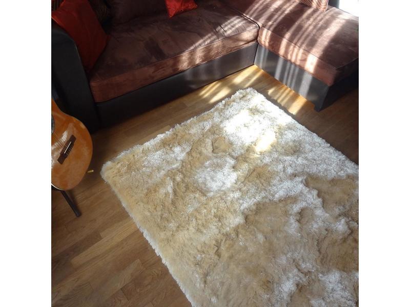 tapis shaggy poils long 120x180 cm