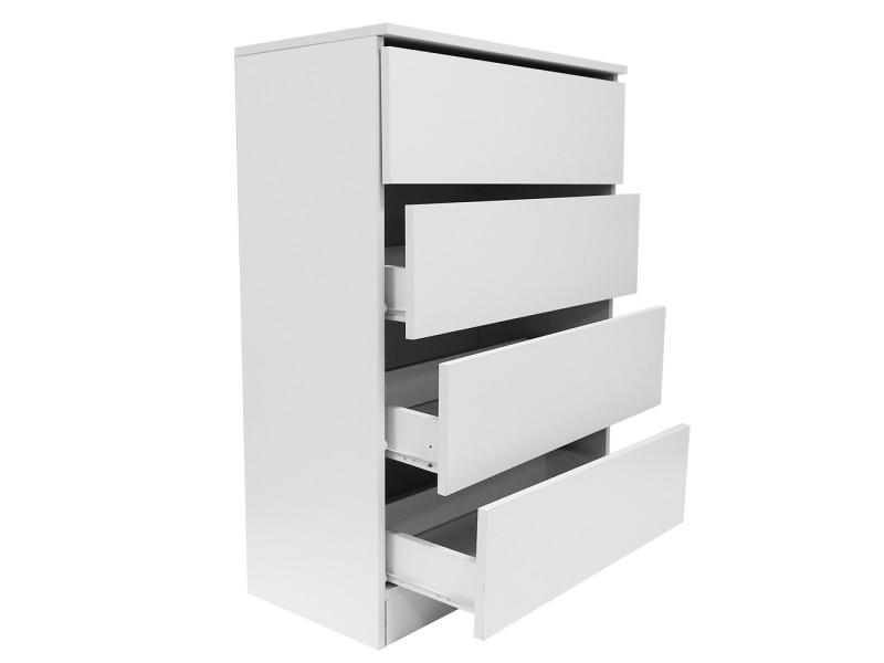 https www conforama fr chambre literie chambre adulte armoire meuble de rangement armoire scandinave 4 tiroirs hombuy pour salon bureau chambre blanc p h96638229