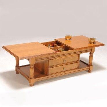table basse bar chene 5224 vente