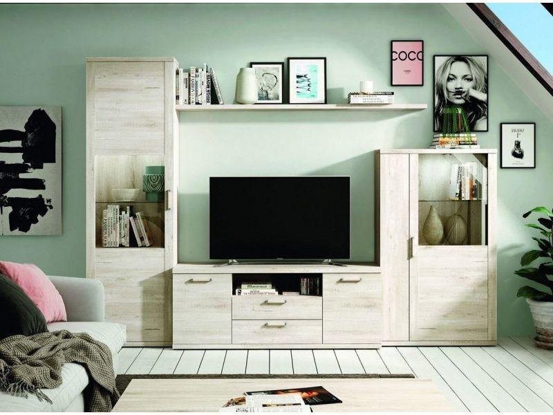 meuble tv bibliotheque kronos 101 4 elements