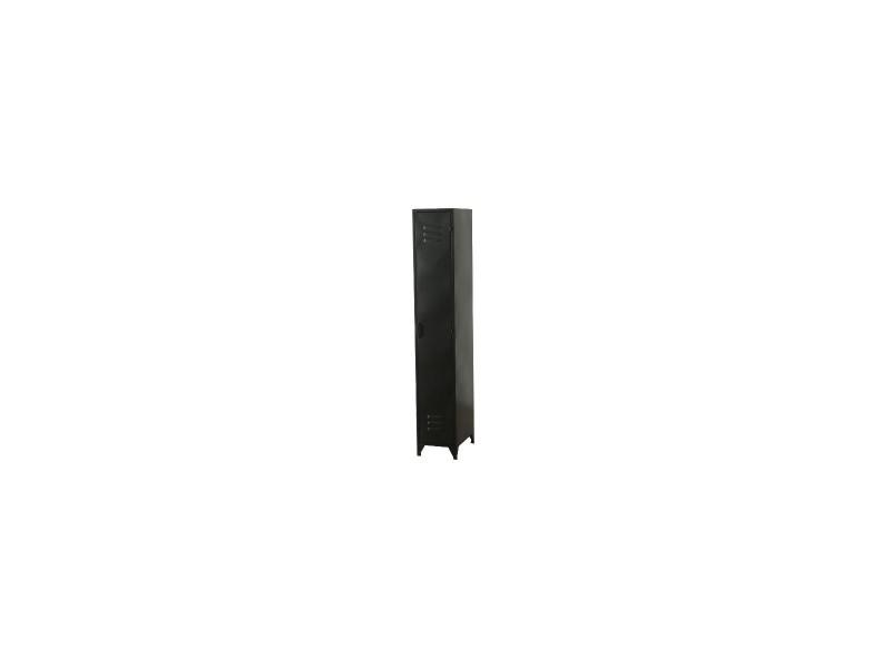 noir style casier industriel