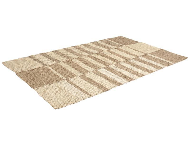 https www conforama fr decoration textile tapis tapis salon et chambre tapis rectangulaire en jonc de mer et mais dim 120 x 180 cm pegane pegane p k45934323