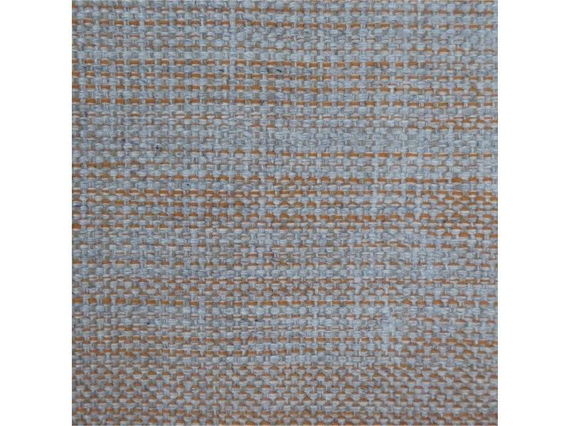 tapis hamilton gris clair orange