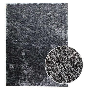 tapis 160x230 cm glitter coloris noir