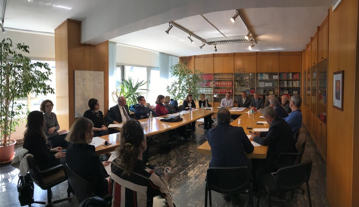 Panoramica sala consiglio ENAS